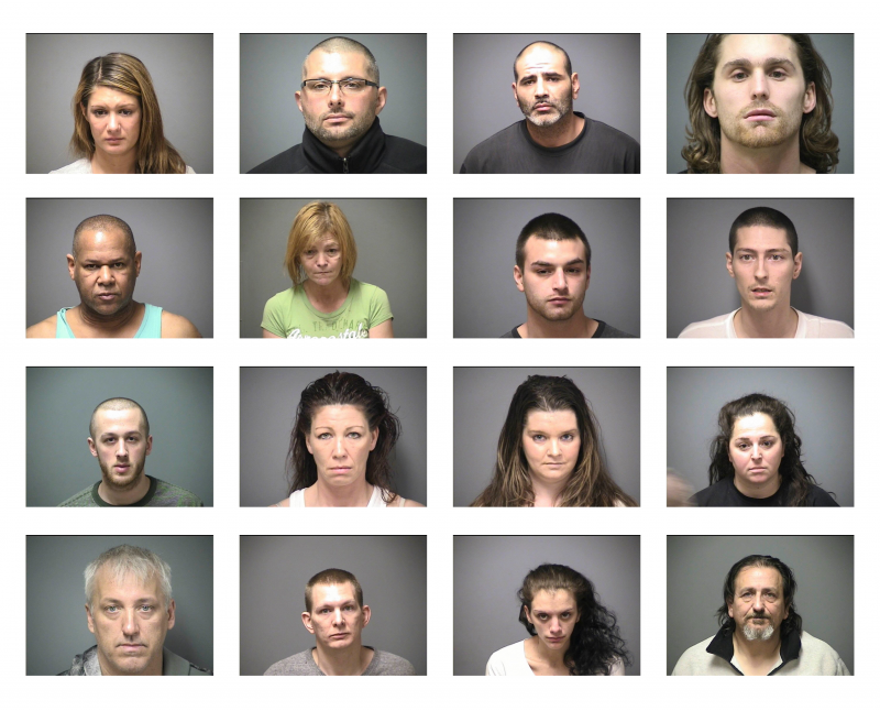 16 of the 30 dealers arrested so far.