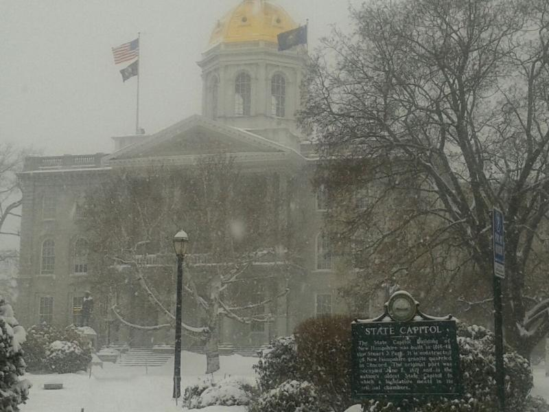 The N.H. Statehouse in Concord