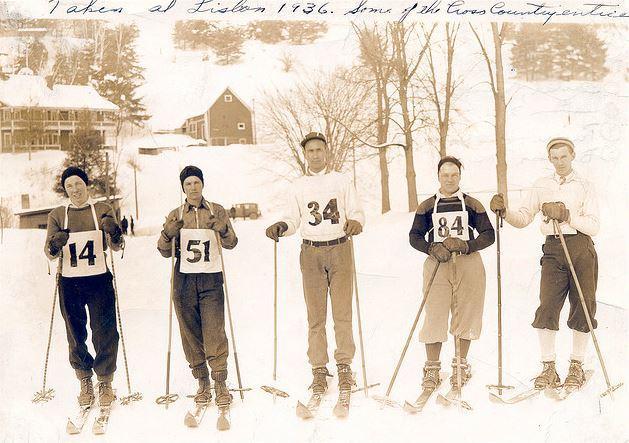 Lisbon X-C ski team, 1936