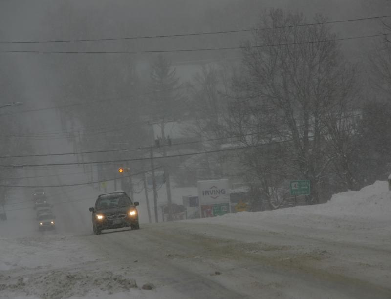 Friday snow in Bethlehem, N.H.