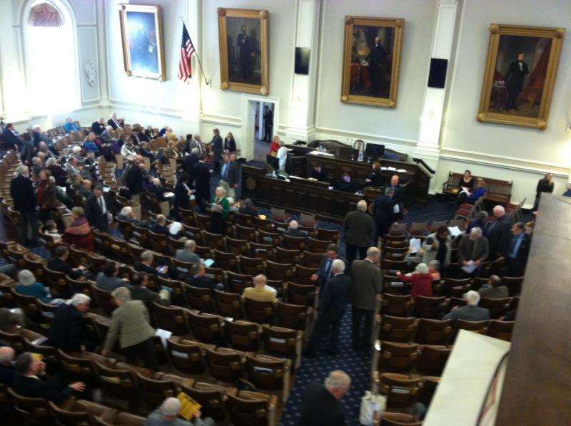 Representatives Hall in Concord.