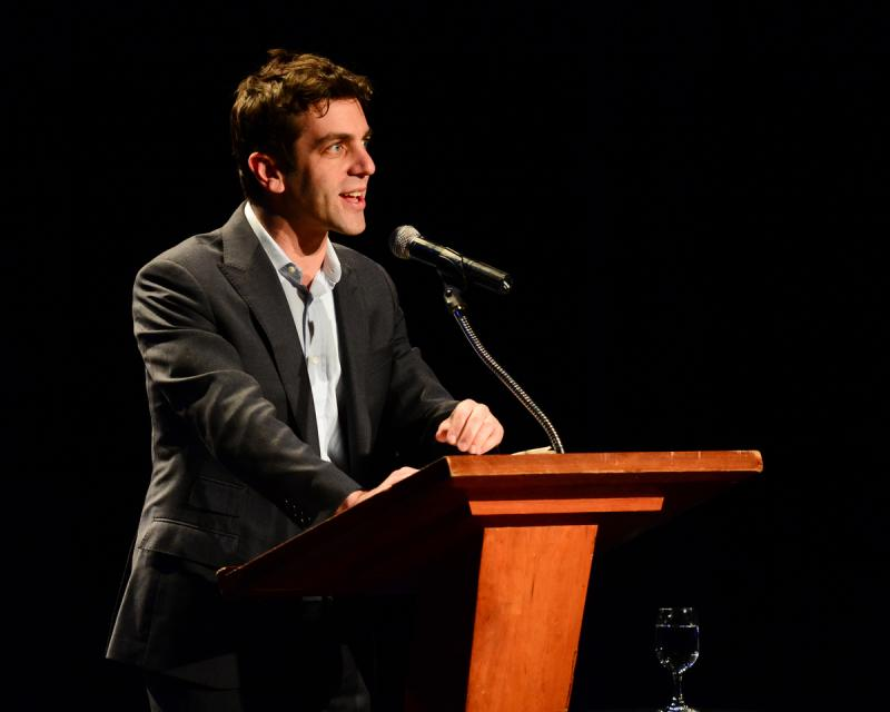 "B.J. Novak reads from his book, ""One More Thing"""