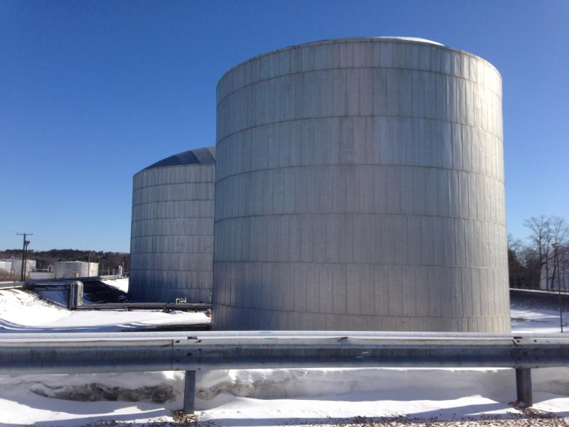 Sea-3's storage tanks in Newington, NH