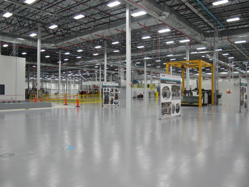 Safran and Albany International revealed their new high-tech manufacturing plant today in Rochester.