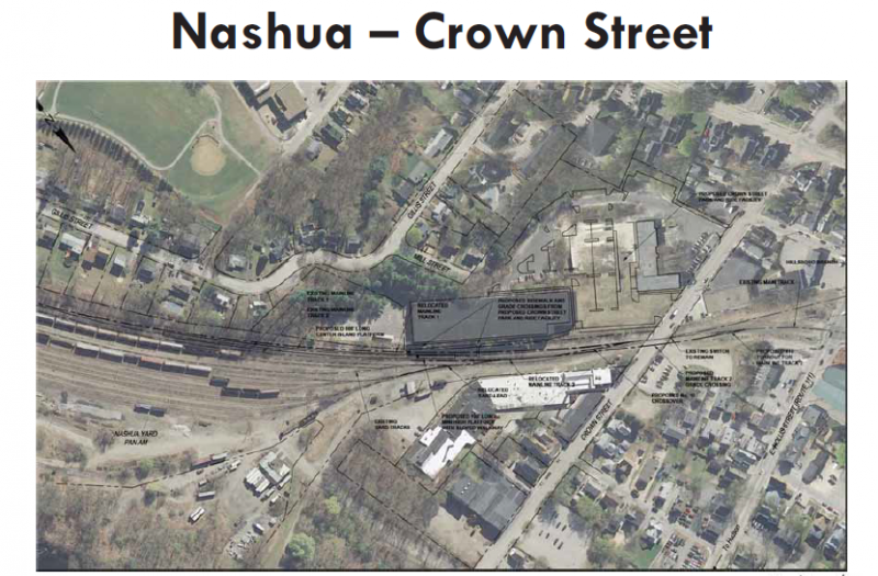 Possible plan for Nashua station