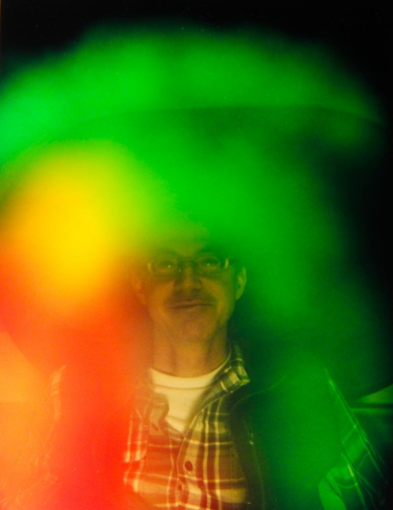 NHPR's Sean Hurley and his aura.