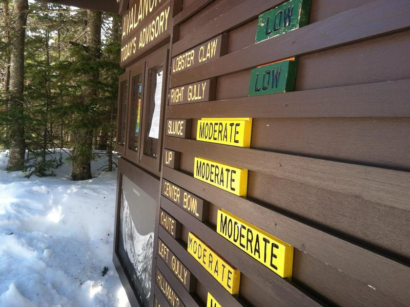 Avalanche danger is posted daily by US Forest Service snow rangers. Danger is frequently high in mid-winter, but as backcountry skiing gains in popularity, the rangers say they are seeing more skiing in months that were traditionally considered dangerous.
