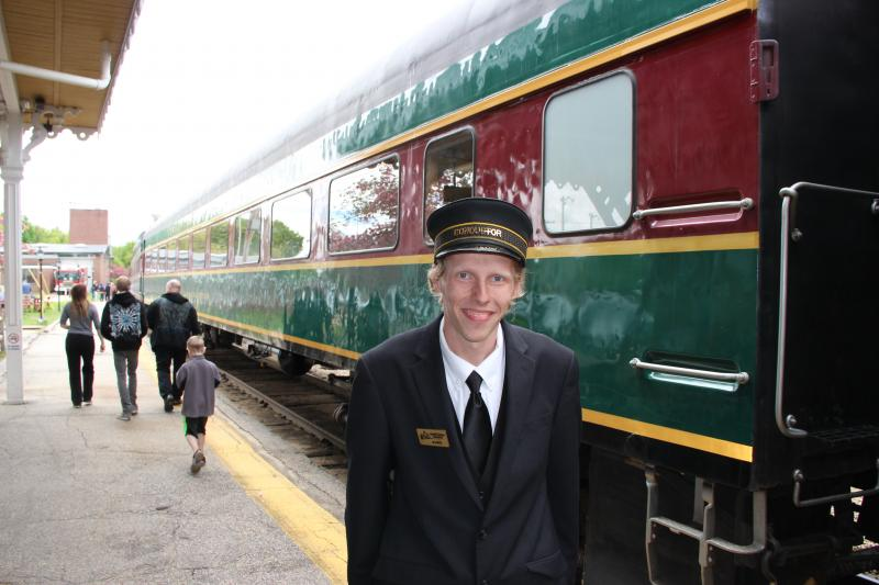 Valley Train Conductor Alex Schwarzmeiller