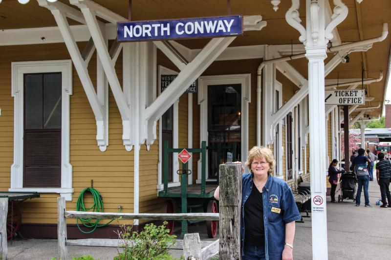 Susan Logan, Marketing Manager at the Conway Scenic Railroad