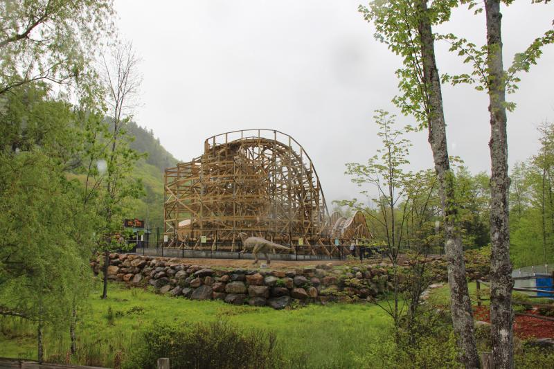 Story Land's Roar-o-Saurus roller coaster was recently named one of the top 10 most insane coasters in the US by CNN.