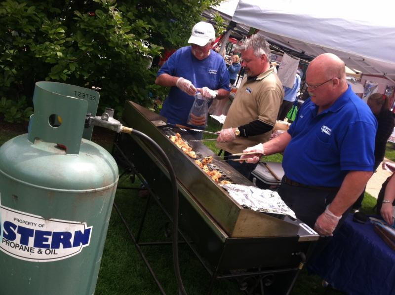 Eastern Propane was one of the companies on hand at the Outdoor Living Safety Day.