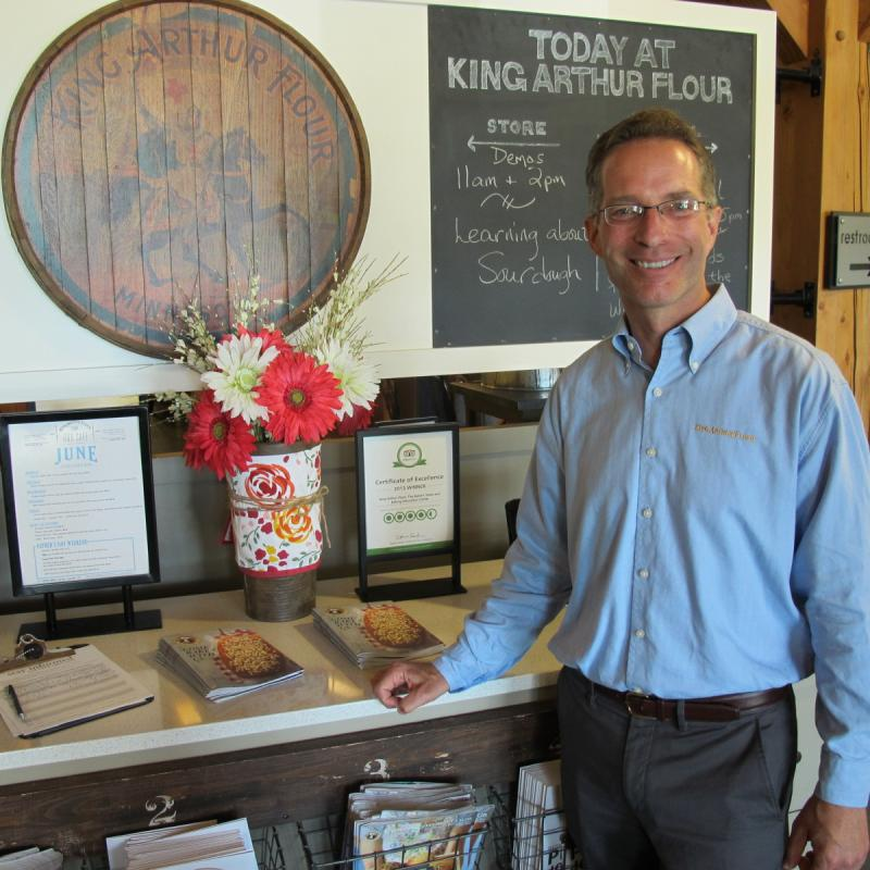 After 15 years, Steve Voigt is stepping down as CEO of America's oldest flour company.