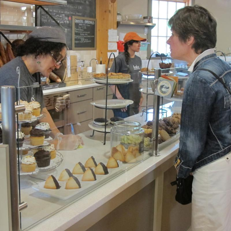 The bakery at Camelot is one of the company's main attractions for Upper Valley locals and visitors.