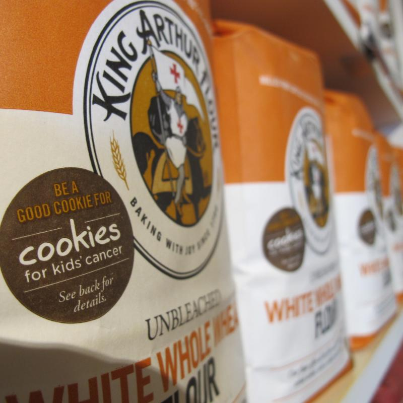 "King Arthur has carved out a niche for itself as a ""premium"" flour producer."