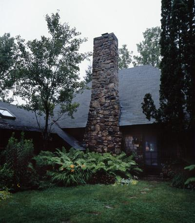 Conner Cove Cottage, Southwest Harbor (Builder R. M. Norwood, Architect unknown, 1923), exterior.