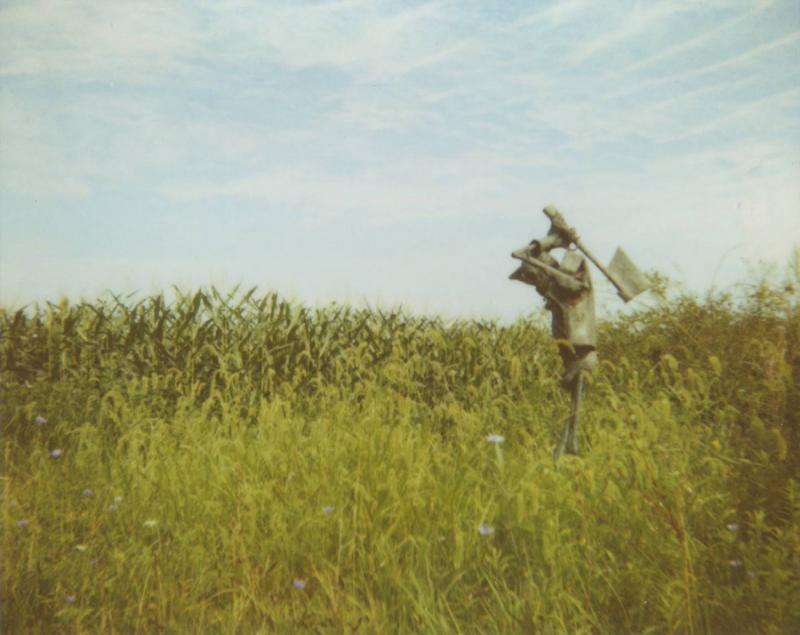 """Tin Man"" scarecrow from 2009."