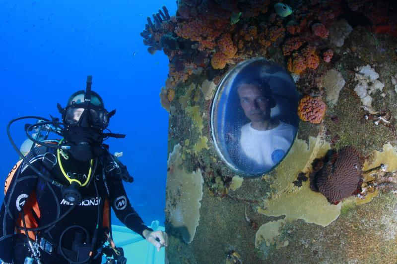 Andy Shantz and Fabien Cousteau, Mission 31