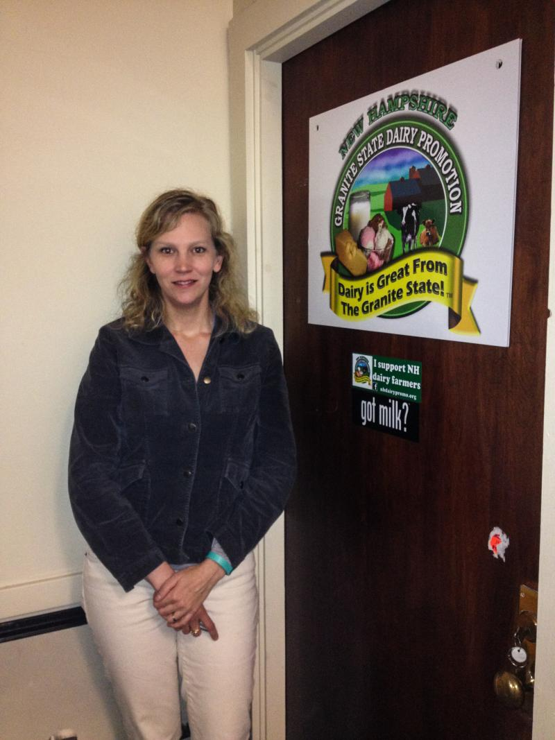 Amy Hall of the Granite State Dairy Promotion