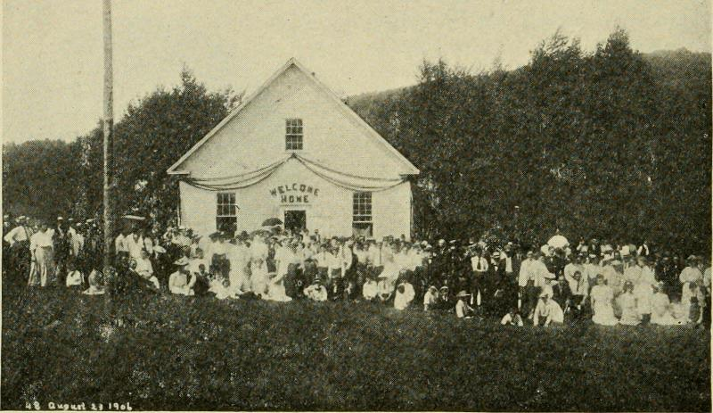 An Old Home Day Gathering. 1908