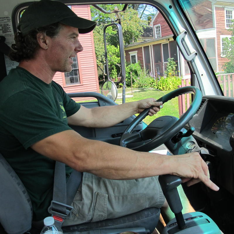 Cantelmo drives three farmers' produce to 23 customers along the Seacoast