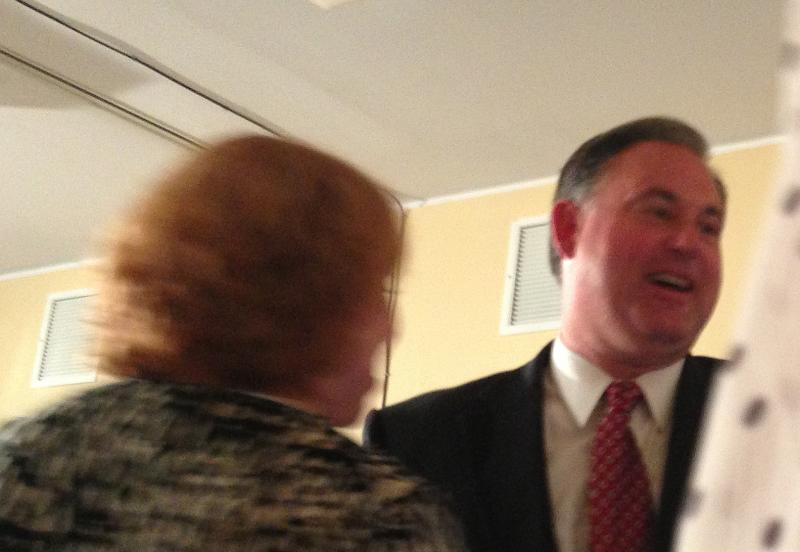 Guinta at his primary HQ to declare victory.