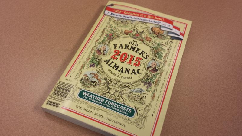 The 2015 Old Farmers Almanac.