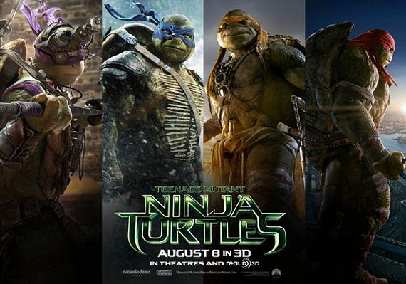 The teenage turtles look a little different now.