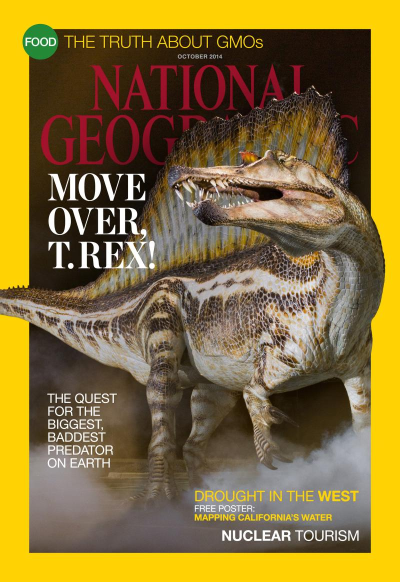 All images are from the October issue of National Geographic Magazine.