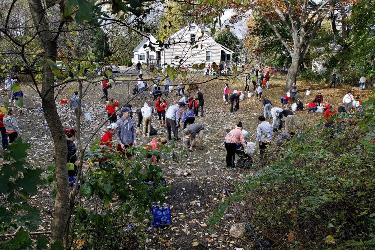 Keene State Students Clean Up After Mayhem Near Pumpkin Fest