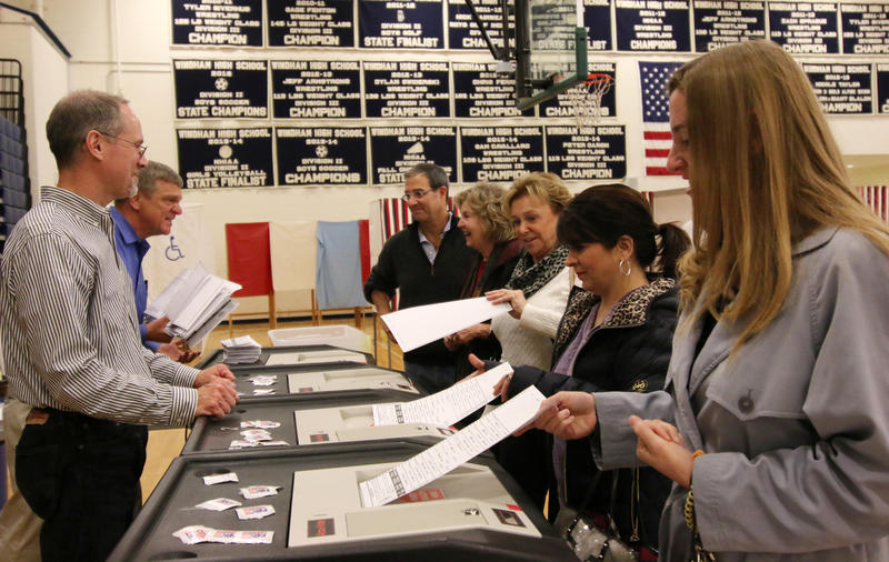 Voters in Windham