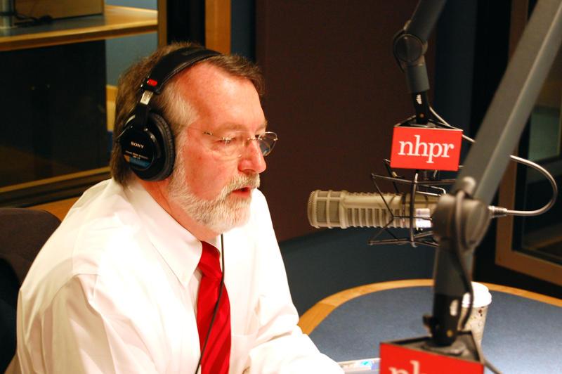 Republican State Representative and House Speaker Bill O'Brien in NHPR's studios. November, 2010