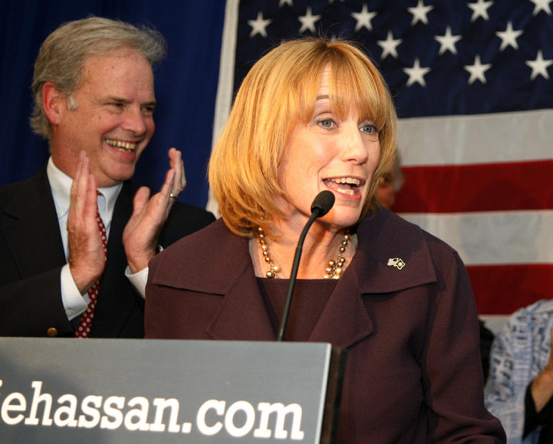 Maggie Hassan, election night 2014