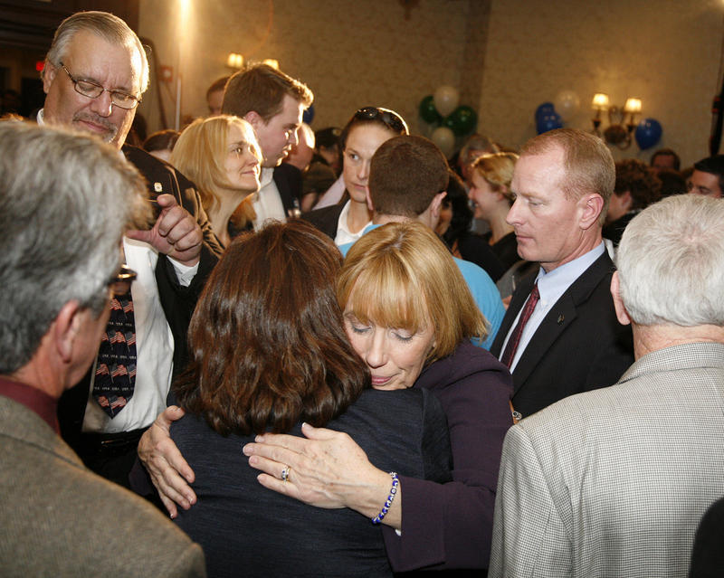 Maggie Hassan supporters, election night 2014