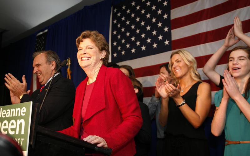 Jeanne Shaheen, Election night 2014