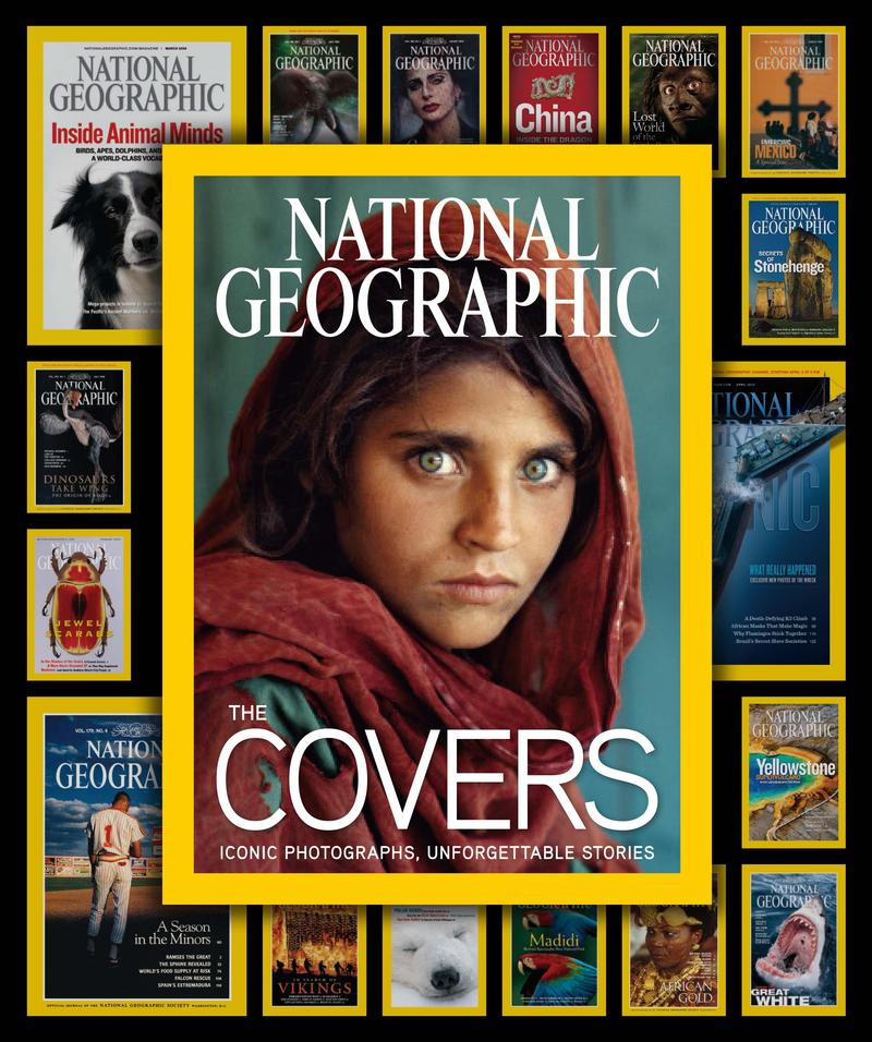 All images are from: National Geographic The Covers: Iconic Photographs, Unforgettable stories