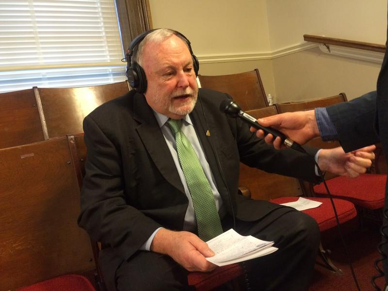 Rep. Gene Chandler connects with the NHPR studio to talk about Republican response to Hassan's speech
