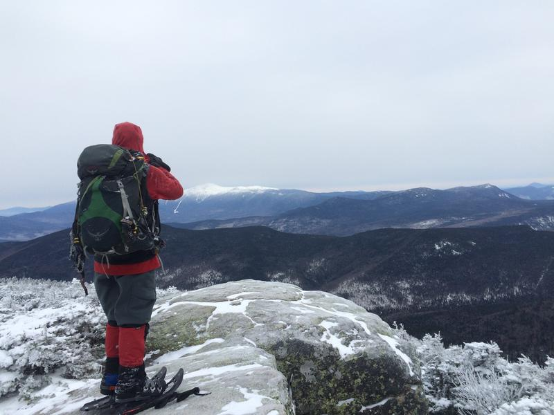 Apart from being a dedicated hiker, Bradley also takes a lot of photos of the Whites.