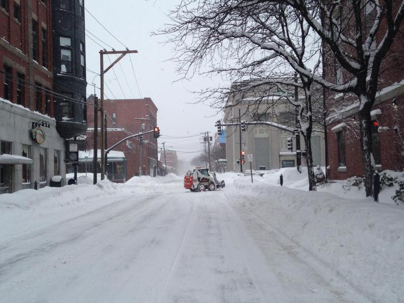 Downtown Nashua on Sunday