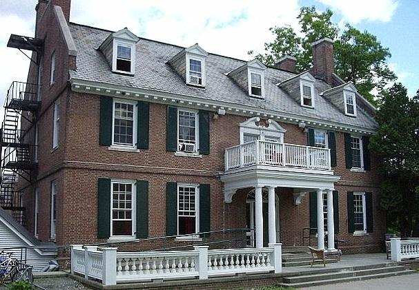 The Alpha Delta house at Dartmouth College
