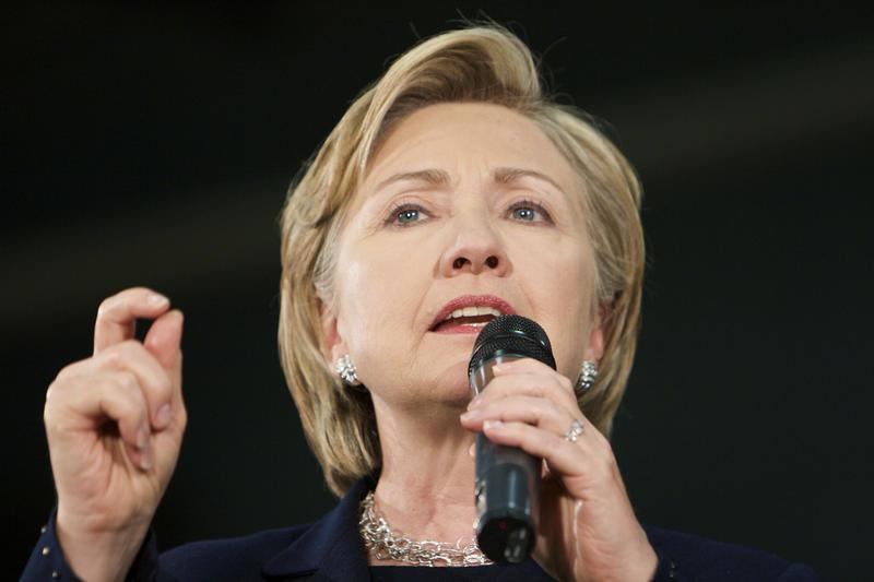 Clinton in N.H. in 2008