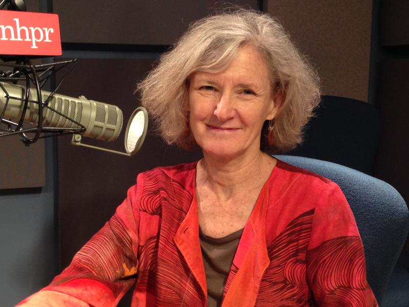 Author Carol Westberg at NHPR's studios in Concord, N.H.