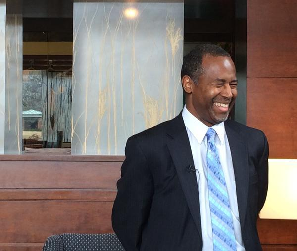 Carson made the rounds on a swing through New Hampshire in early April 2015.