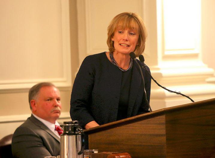 "Governor Maggie Hassan says she has ""serious concerns"" about the Senate Finance budget."