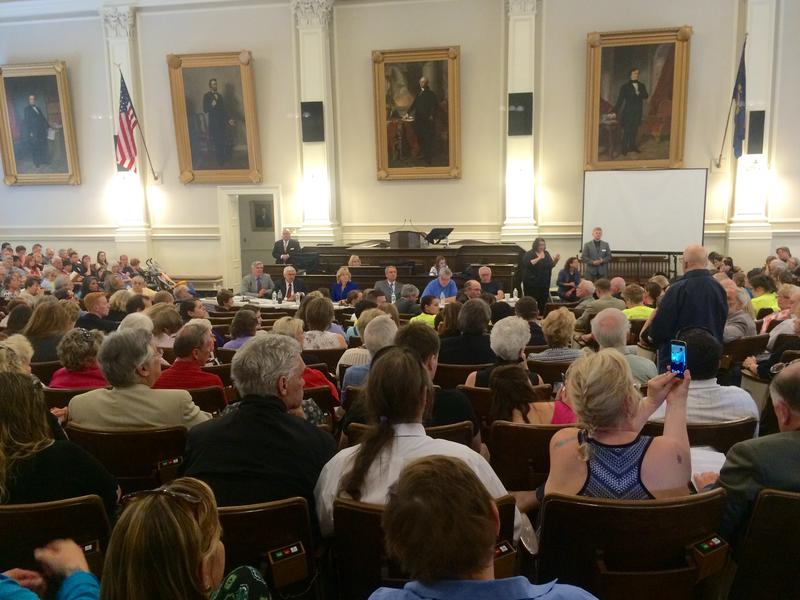 Earlier this month the Senate Finance Committee hears from N.H. residents to restore funds to the state's social programs.