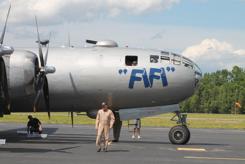 Tours of the B-29 open for the weekend
