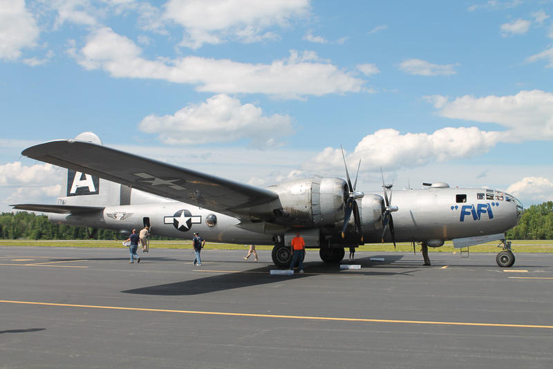 Iconic B-29 Superfortress World War II Bomber