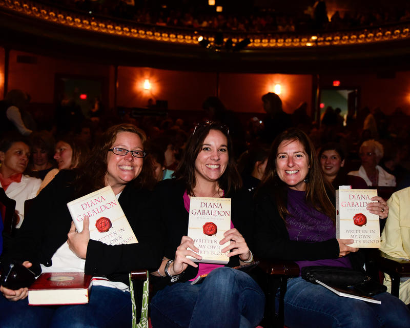 Fans of Diana Gabaldon in the audience