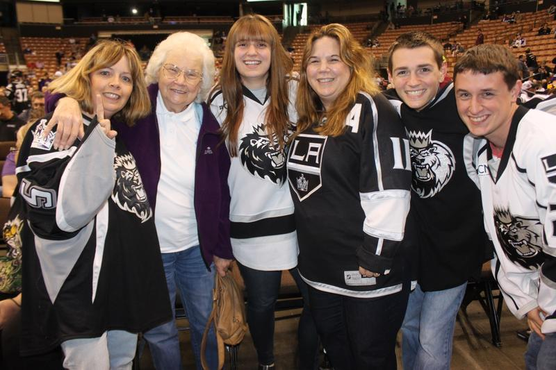 """""""I'm not going to be a season ticket holder next year. We will come back and check it out, but it was a deal-breaker for us because it's a level lower than the AHL. """" Debbie Jodoin, Concord."""