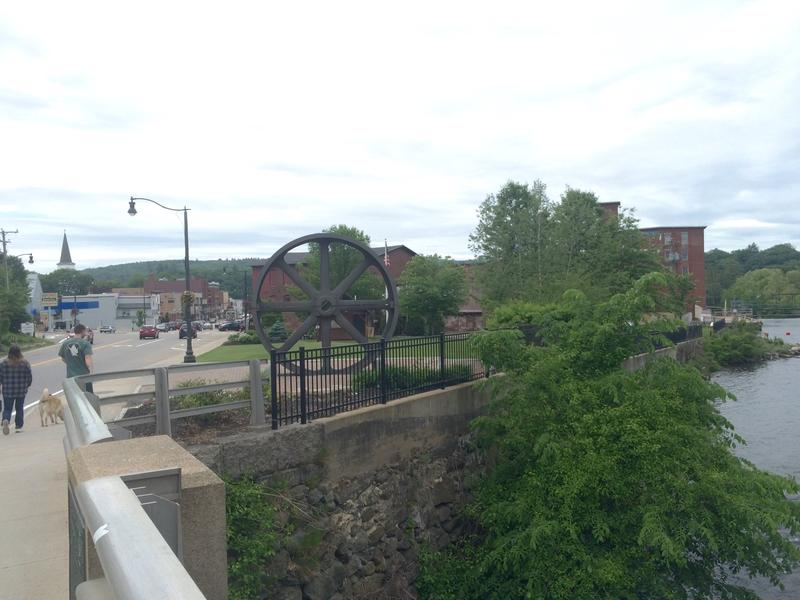 LIke most New England mills towns, Franklin suffered economic strife after its mills shutdown.
