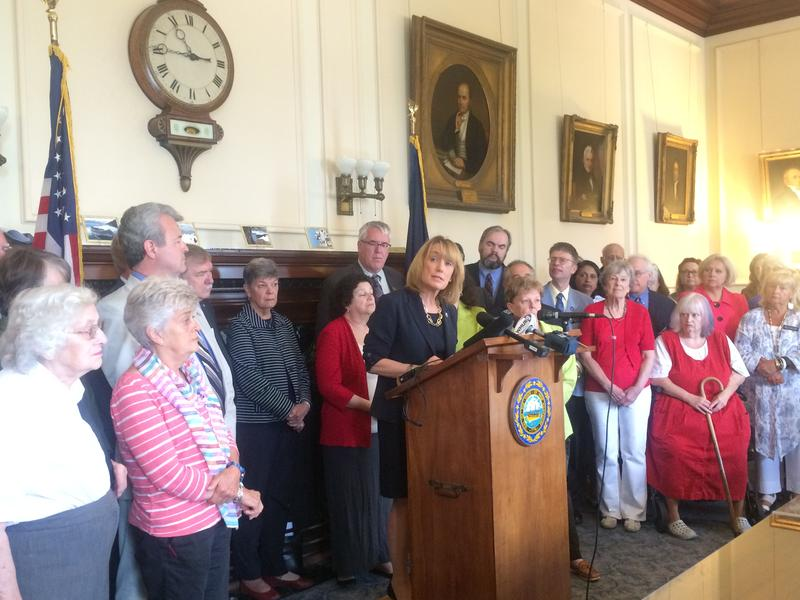Gov. Maggie Hassan and Republicans in the Legislature are at odds over how to reach a deal on a new state budget.